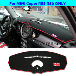 Union Jack Uk Polyester Fib Cover Mat Dashboard Dash For Mini Cooper R55 R56