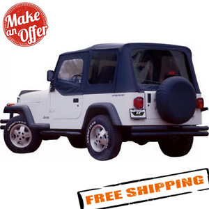 Rampage 68215 Complete Soft Top With Frame Hardware For Jeep Cj7 Wrangler Yj