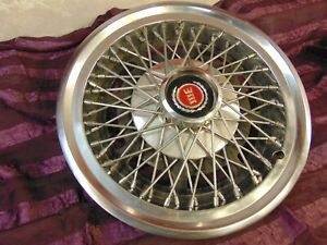 One 14 Ford Wire Wheel Cover For Mustang And More Hubcap