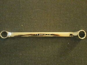Snap On Xbm2124 21mm And 24mm Box End Wrench