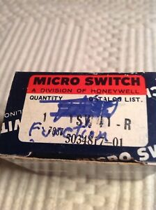 Honeywell Micro Switch Pushbutton Contact Block 1sw41 R