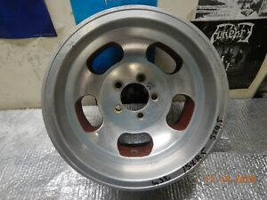 5 On 4 5 Vintage 15x8 5 Slot Mag Wheel Ford Mopar Dodge Van Dodge Plymouth Gt