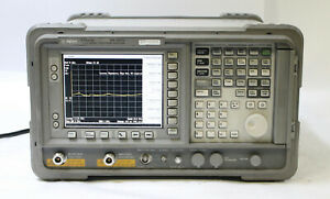 Hp Agilent E4407b 9khz 26 5ghz Spectrum Analyzer W Tracking Generator