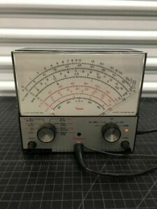 Vintage Simpson Model 312 Vacuum Tube Volt ohmmeter Excellent Condition 3