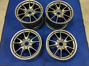 2010 2011 Porsche 911 Gt3 Oem Wheels 997 997 2 19 Rims Genuine Factory Stock