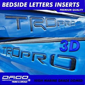 Toyota Tundra Raised Trd Pro 3d Bed Decals 2015 2016 2017 2018 2019 2020 Domed