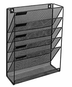 Vertical File Organizer For Home And Office Mail Holder Magazine Rack And