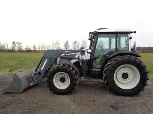 Valtra A85 Tractor 4wd Quicke Q40 Front Loader 88hp 1 Remote 2 816 Hours