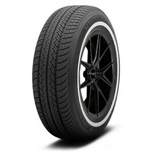 4 new P215 70r14 Uniroyal Tiger Paw Awp Ii 96t White Wall Tires