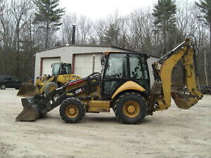 2006 Cat Caterpillar 420e It 4x4 Backhoe Loader Enclosed Cab
