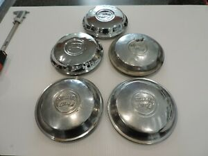 Vintage 1920 s 1930 s Chrysler Six Hub Caps Good Driver Or Refurb