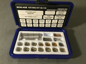 Schlage Mini Keying Kit 40 134 Pin Kit Never Used
