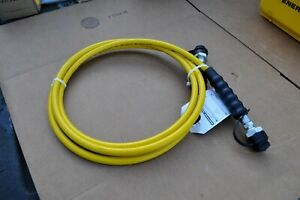 Enerpac Hc7210 Hose 10ft 3 8 Npt With Ch 604 On Both Ends New