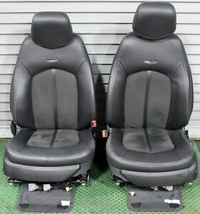 2009 2015 Cadillac Cts V Coupe Seats Ebony Leather Suede Heated V Series Power