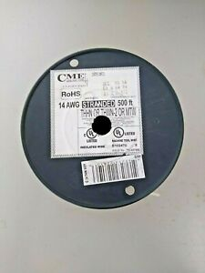 Cme Wire And Cable 14 Awg Strand 500ft Thhn Or Thwn Or Mtw