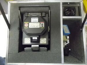 Sumitomo Electric Type 63 Fusion Splicer with Fiber Cleaver