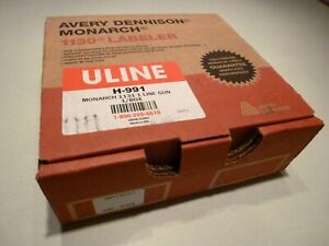 Uline Avery Dennison Monarch 1131 Price Gun Labeler Price Tag Marker