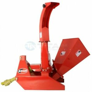 3 point Attachment Wood Chipper For Tractors Up To 40hp Titan Bx42 Pto 4 x10