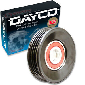 Dayco Drive Belt Idler Pulley For 1994 1997 Ford Aspire Tensioner Pully Od