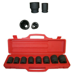 8 Pc 3 4 Inch Drive Impact Socket Set Shallow Sae