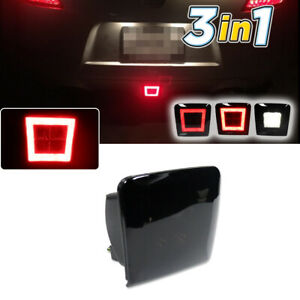 White Red Led Reverse Brake Rear Fog Light For Nissan 370z Juke Sentra Nismo Etc