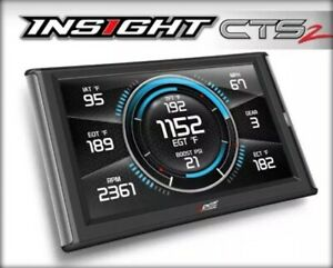 Edge 84130 Insight Cts2 Monitor Gauge Display Obdii 1996 17 Veh Gm Dodge Ford