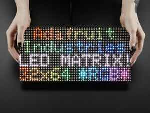 64x32 Rgb Led Matrix 5mm Pitch With Transformer Use With Arduino