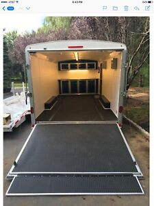 2013 United Loaded Enclosed Car Trailer