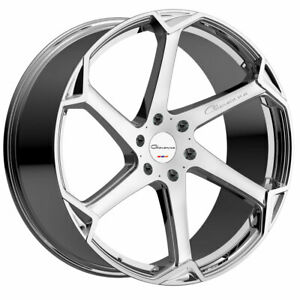 20 Giovanna Dalar X Chrome 20x10 Concave Wheels Rims Fits Ford Mustang Gt