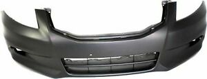 Front Plastic Primed Bumper Cover For 2011 2012 Honda Accord Ho1000279