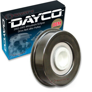 Dayco Drive Belt Idler Pulley For 2002 2005 Mitsubishi Eclipse 2 4l L4 Zl