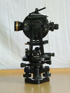 Vernier Transit Theodolite Watts Pattern For Surveying Instrument