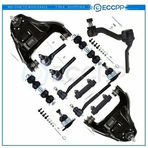 13pc Front Suspension Steering Control Arms Kit Fits Chevrolet Blazer Awd 4wd