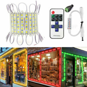 Super Bright Ip65 Waterproof 5054 Smd 6 Led Module Light Lamp Dc 12v Remote La