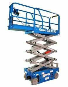 Genie gs 1930 19 Ft Electric Scissor Lift