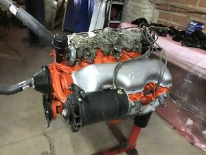1960 348 Block And Tri power Block Heads Oil Pan Intake carbs Not Included