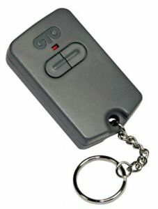 Gto Dual Button Entry exit Transmitter Includes Battery Visor Clip Keychain
