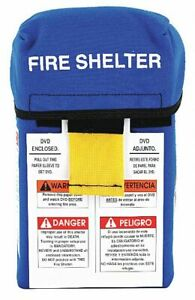 Anchor Industries Fire Shelter Large Size Open Width 33 Open Length 96