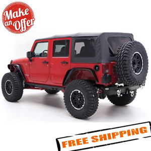 Smittybilt 9085235 Replacement Soft Top W Tinted Windows For Jeep Wrangler Jk