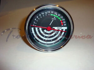 Replacement Tachometer Tach Clockwise Will Fit John Deere 8 Speed Model 2010