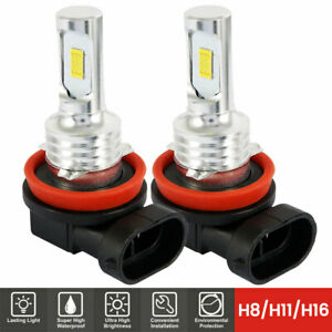 H16 H11 H9 H8 Bright 6000k White 7000lm Cree Headlight Bulb 40w Led Kit Low Beam
