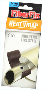 Fiberfix 38501 Heat Wrap For Exhaust Pipes And High Temp Repairs 2 X 70