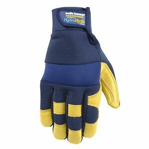 Wells Lamont Hydrahyde Men s Cowhide Leather Water Resistant Work Gloves Large