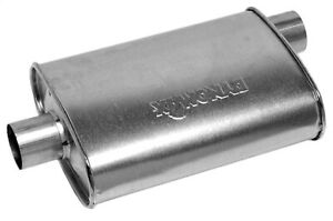 Dynomax 17731 Super Turbo Muffler 4 25 X 9 75 2 25 In Inlet outlet Oval