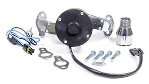Proform Polished Aluminum Electric Water Pump Kit Small Block Chevy P n 66225p