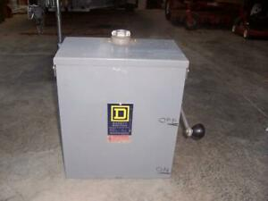 Square D Safety Switch Dtu 223nrb Series C1 Manual Transfer Switch Nice