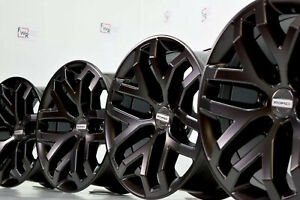 17 Ford F150 F 150 Raptor Truck Satin Black Wheels Rims Factory Oem Set 4