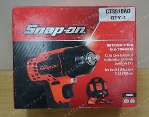 Snap On 18v 3 8 Dr Lithium Cordless Impact Wrench Kit Ct8810a