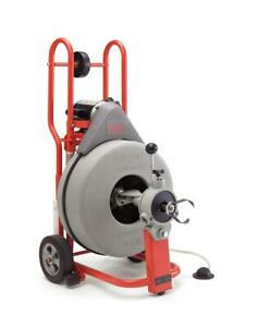 Ridgid 41977 K 750 Autofeed Drum Machine With 3 4in Pigtail