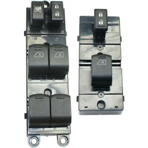 Power Window Switch Front Left and right Lh Rh For Nissan Pathfinder 2007 2012